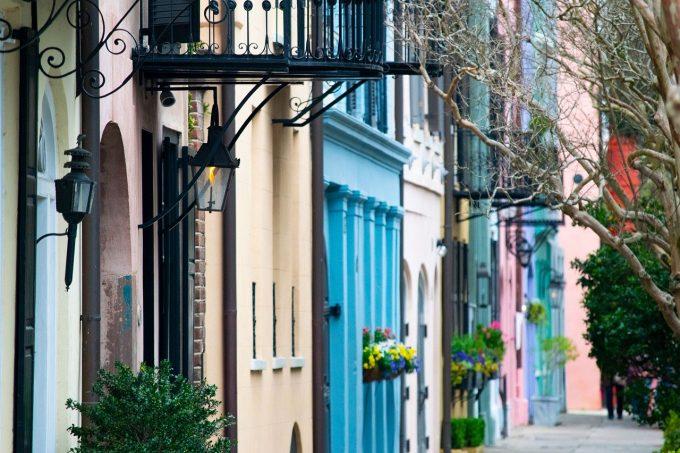 Charleston, Rainbow Row