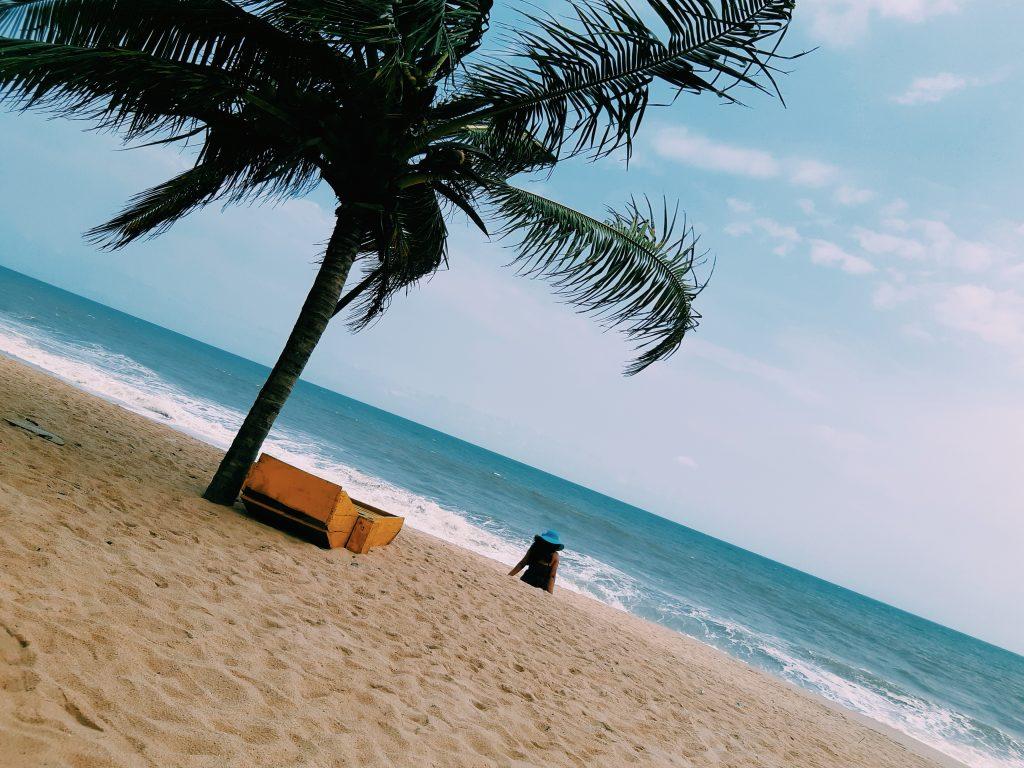 Beach in Africa